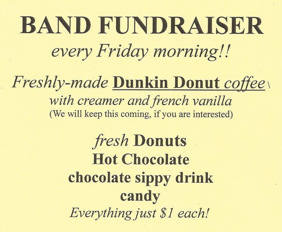 Weekly Band Fundraiser