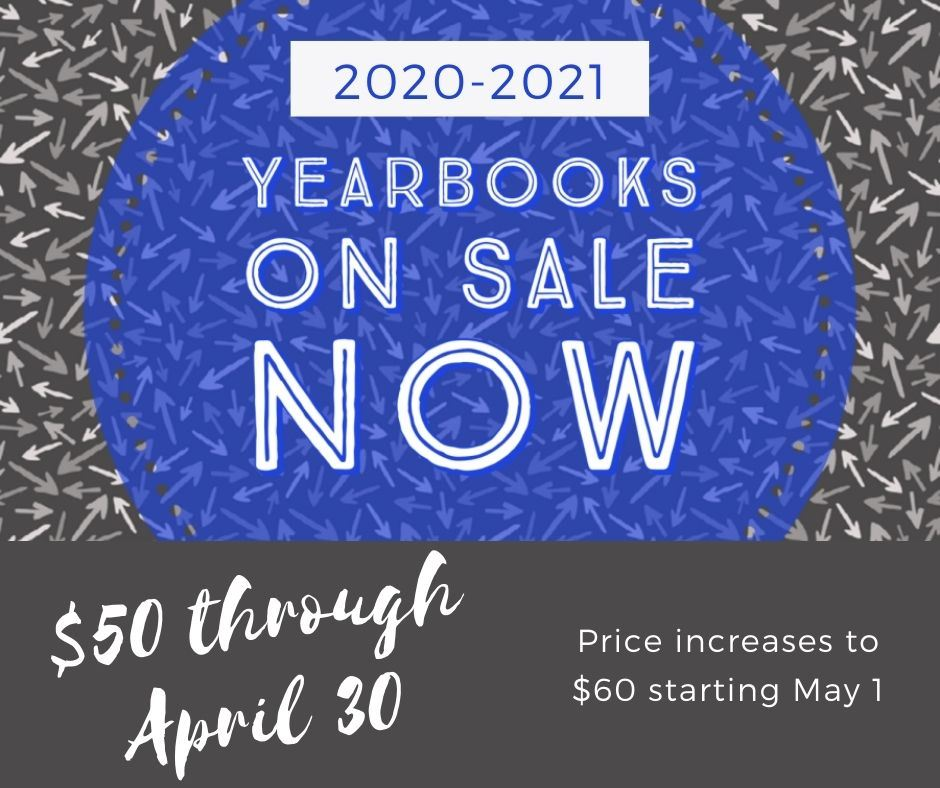 2020-2021 Yearbooks On Sale Now